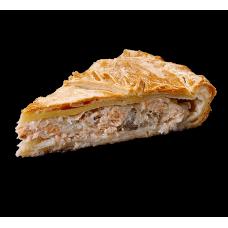 "Пирог ""Ветчина и грибы 1кг"