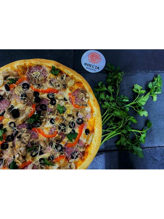 Пицца Сытная 1/550