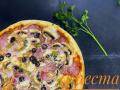 Пицца Ветчина и грибы 1/560