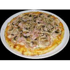 Пицца Ветчина и грибы 1/400